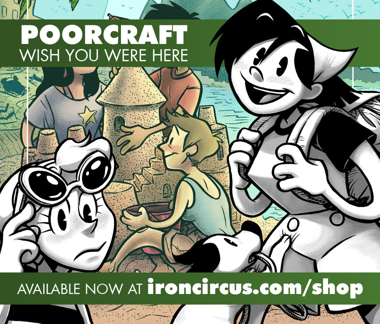 poorcraft by spike and diana nock comix talk